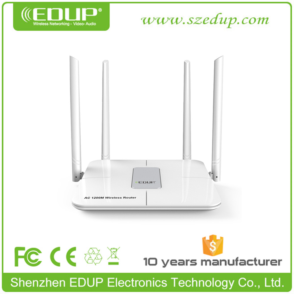 1200mbps 802.11AC Wireless 2km Wifi Router / Lan ports router