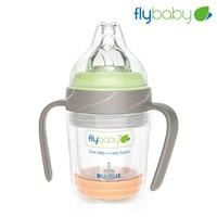 Reshine flybaby double wall glass baby bottles