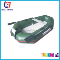 Hot sales Inflatable float fishing boat,aluminum bottom air floating boat