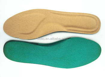 soft foam comfortable leather slim design insole leather shoes insoles manufacturer