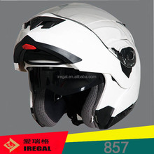 Iregal New DOT ECE Flip-up Elegant Motor Cycle Accessories Helmet
