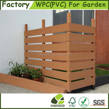 Customized Wood Plastic Composite Garden Panel Fence