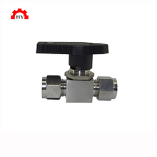 Made in China Orbit stainless steel 304 316 self closing micro ball valve