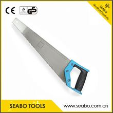 Manufacturing extending tree pruning saw with wooden handle