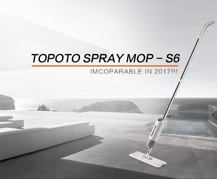 2017 TOPOTO Innovative Water Spray Mop