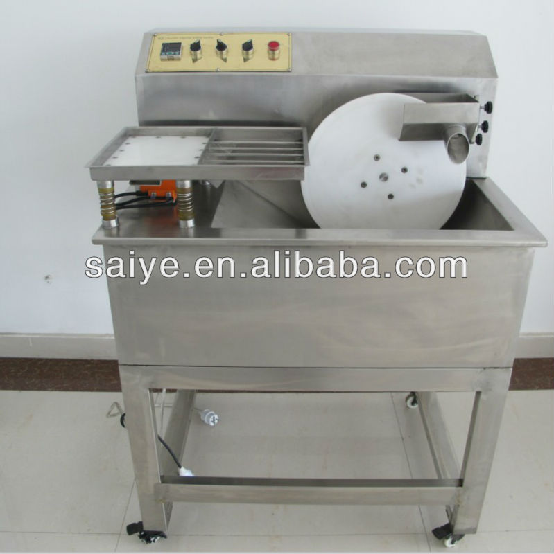 high quality with low price 5L chocolate tempering molding machine