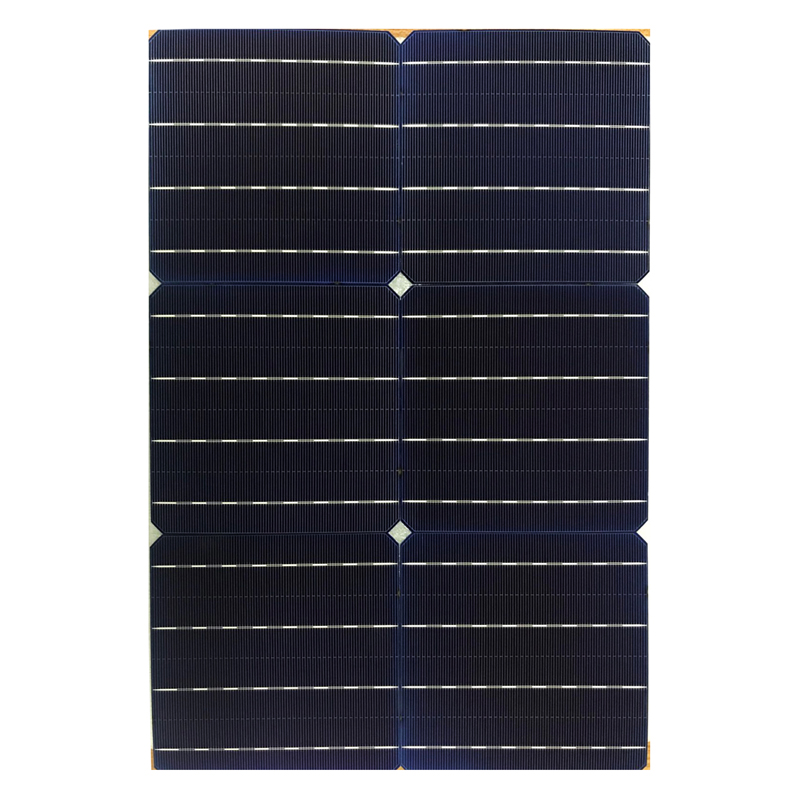 High Efficiency 5BB 6 Inch Triple Junction Multi Junction Solar Cell