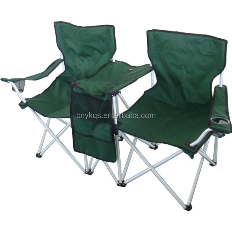 Tela de nylon ligero de doble silla de playa plegable - Sillas plegables de playa ...