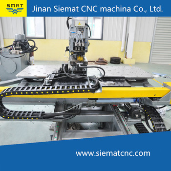CNC punching press machine with Siemens system