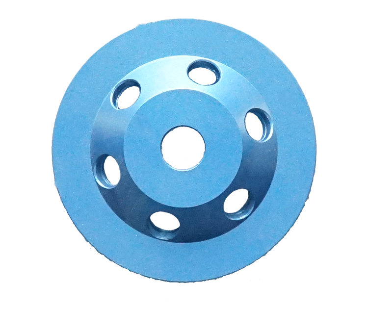 4 Inch PCD Diamond Cup Wheel for Surface Grinding and Coating Removal