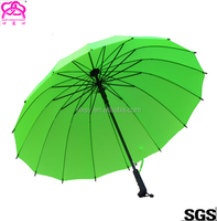High Quality Business Automatic Open 16 K Straight Umbrella With Logo Prints With Lowest price