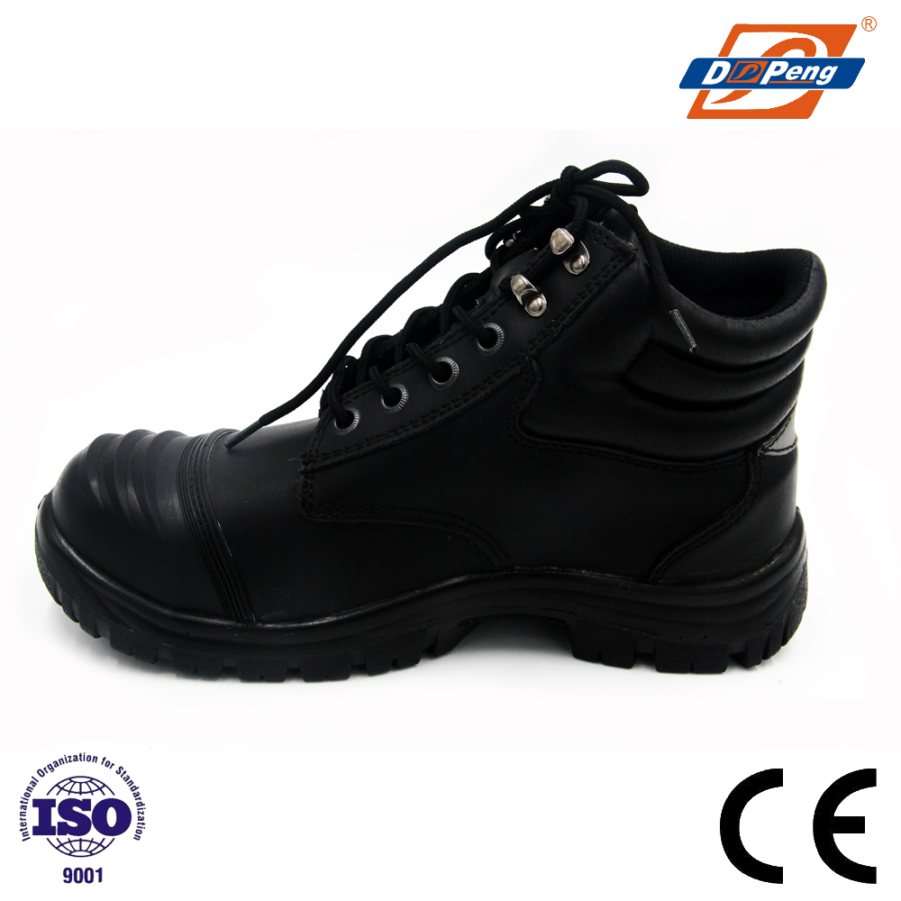 patent composite shoe toe police tactical boots anti-collision