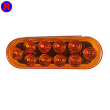 Factory directly sale 6.5inch CE certification round led trailer rear lights