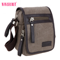 2017 New coming classic style canvas material blank canvas shoulder messenger bags wholesale men vintage shoulder bag sling bag