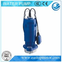 QDX-FA sewage lift pumps for drainage with speed 2850rpm