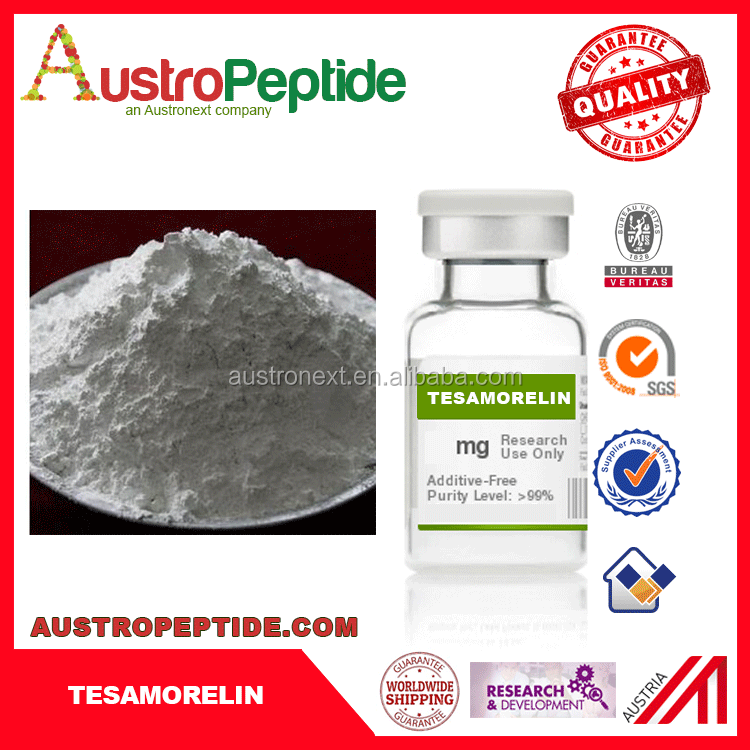 cheap and high quality polypeptide Tesamorelin acetate CAS: 106612-94-6 from china