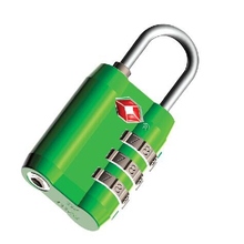 TSA802 new style 3 digits ABS TSA padlock with digits
