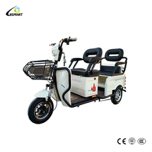 350W adult standing passenger three wheel electric tricycle for sale