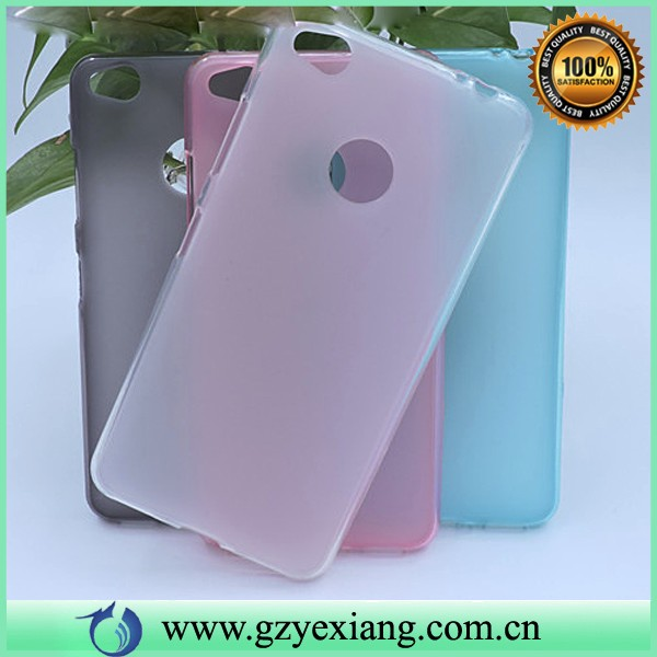 pudding tpu back cover case for zte nubia n1 matte tpu case in stock