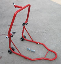 Front and Rear Wheel Lift Motorcycle Stand