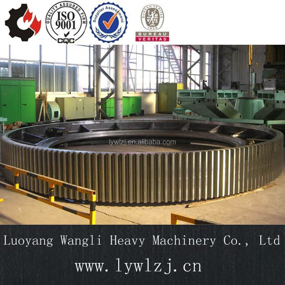 OEM Customized High Quality Casting Large Ring Gear/Gear Ring for Ball Mill