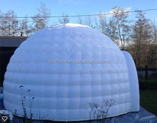 PVC air supported dome tent structure with direct manufacturer