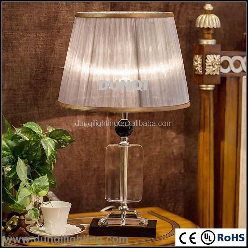 New design Italy style luxury crystal antique crystal table lamp