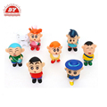 Garden ornaments small plastic toy figures