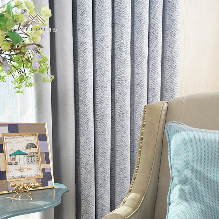 Factory supplier wholesale sunshade luxury window curtain for bedroom