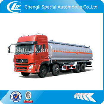 DongFeng 8*4 fuel tank truck 30000liters