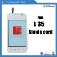 Low cost mobile phone digitizer touch screen for LG L35 with single sd card