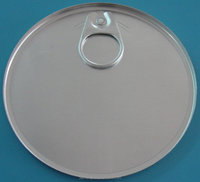 round can top tank cap metal lid