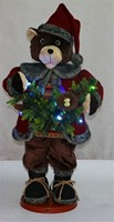 CM-A6100 Christmas decoration 36 inch collapsible moving bear with music