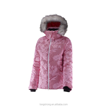 RYH911 Durable Winter warm colorful ski jacket for women