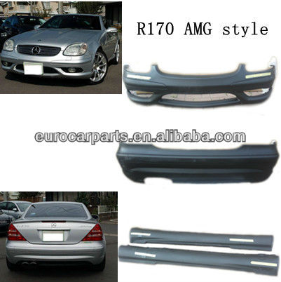 high quality body kit for BENZ SLK-CLASS R170 AM Style bumpers 97~00