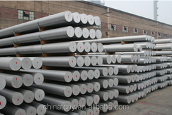 Beijing gold supplier bike materials aluminum bar aluminium billet 6063 aluminum rod price per kg for bus transportation