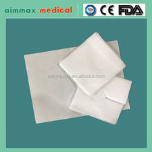 Certificate Approved Medical Absorbent Cotton Gauze/Disposable medical gauze sponge 100% absorbent cotton/gauze swabs