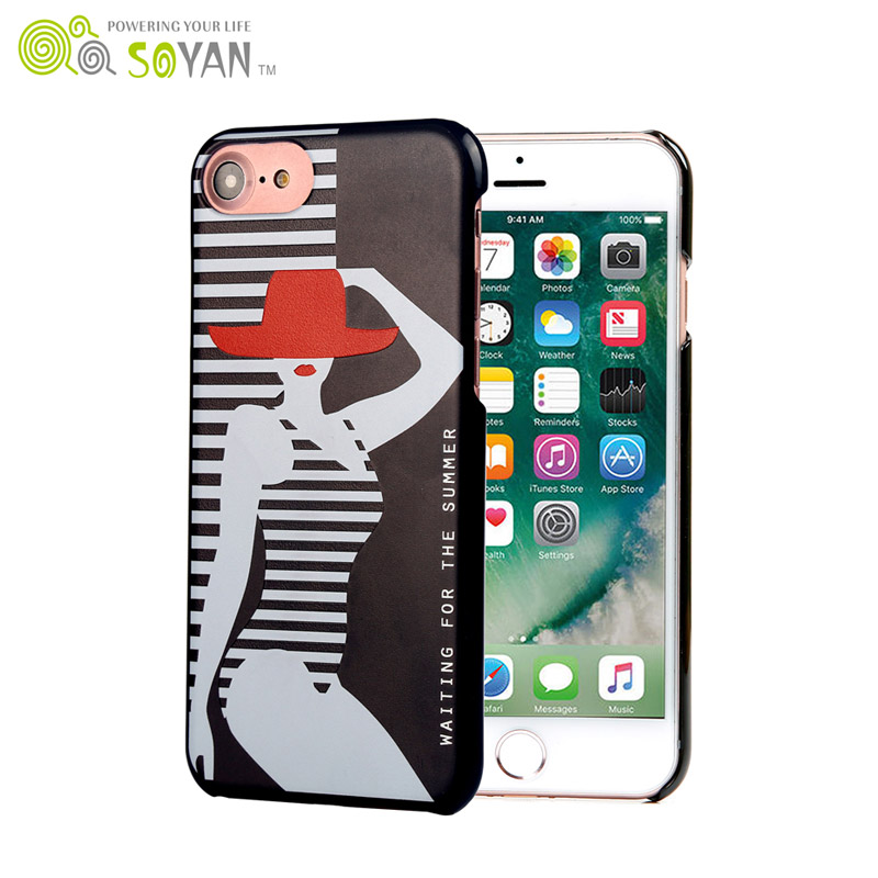 2017 custom design cell phone case PC/TPU case with UV printing for sale for IPhone 8