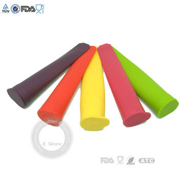 silicone ice pop maker Push Up Ice Cream Jelly Lolly Pop For Popsicle Silicone ice pop mold mould