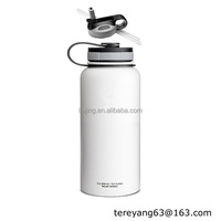 Insulated Wide Mouth Stainless Steel Water Bottle, 32-Ounce,32 oz Hydro flask