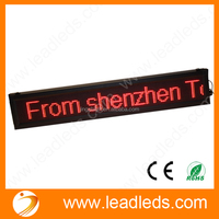 ALIBABA EXPRESS 16*128 DOTS SHOW SCROLLING DESTINATION AND ROUTE NUMBERS BUS LED DISPLAY SCREEN