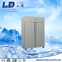 top mounted two door commercial refrigerator equipment 1340L upright refrigerator manufacturers CE approved