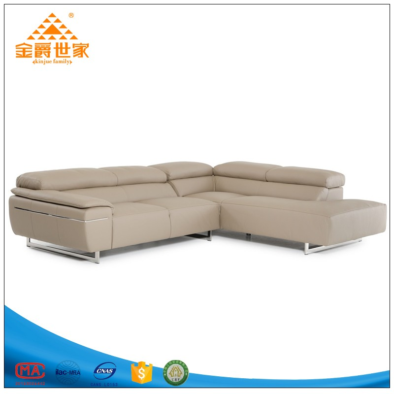 Dermal sofa small family double three people leather sofa combination skin sitting room art sofa
