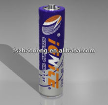R6p aa size carbon zinc dry battery 1.5v ignite brand