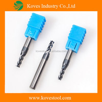 Micro Grain square end mills for hard disk tools repair