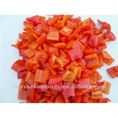 IQF/Frozen dices&strips bell pepper,frozen vegetables