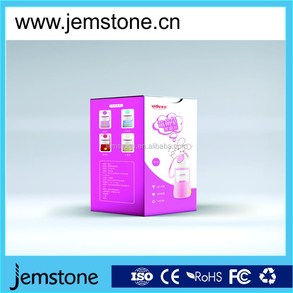 350 gsm white paper gift box with clear pvc window