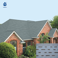 roof shingle, laminated asphalt shingle( Multi-colour) roof tile
