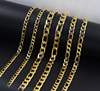Miss Jewelry 18k Hip Hop Figaro Chain Dubai New Gold Chain Design For Men