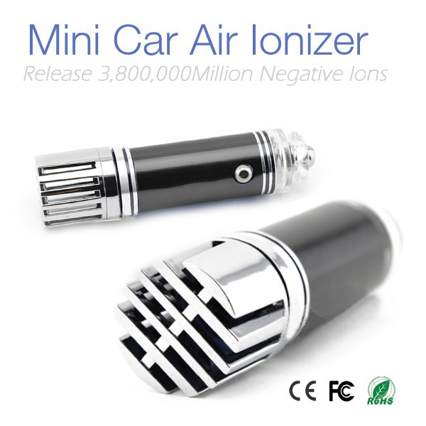 New Car Air Freshener Ionizer JO-6271 for Remove Smoke PM2.5 Air Purifier